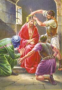 The Crowning of our Lord Jesus with Thorn
