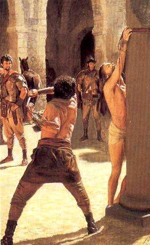 The Scourging of Our Lord Jesus at the Pillar
