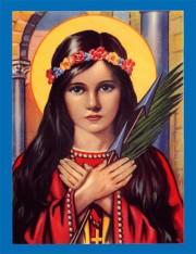 Saint Philomena Living Rosary
