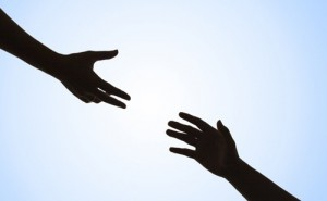 Helping Hand (image from Daily Inspirational .com)