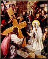 Mary Meets Jesus on the Way to Calvary