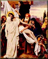 Mary Receives the Dead Body of Jesus in Her Arms